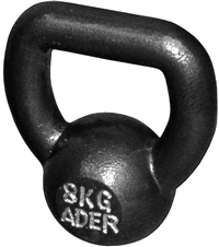 8kg/18lb Fat Handle Kettlebell