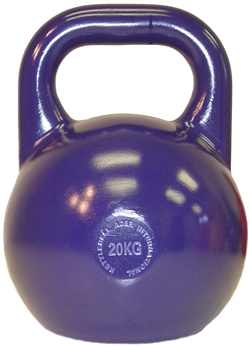 20kg/44lb Pro Grade Kettlebell (Painted Handle)