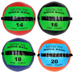 Mega Soft Medicine Ball Set (14, 16, 18, 20 lb)
