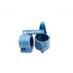 "Olympic 2"" Muscle Clamps- Blue"