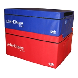 "12 & 18"" Foam Soft Plyometric Boxes"