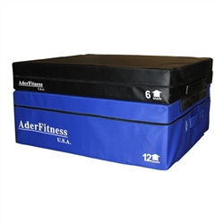 "6 & 12"" Foam Soft Plyometric Boxes"