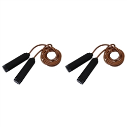 Pair Of Leather Jump Rope