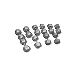 Cast Iron Dumbbell- Sold As 1 Piece (1lb-120lb)