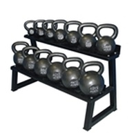 Premier Kettlebell Set w/ Rack & DVD- 4kg to 48kg