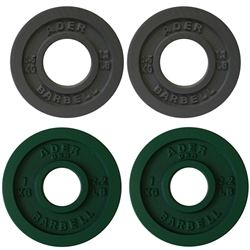 Precision Olympic Plate Set- 0.5 & 1.0Kg