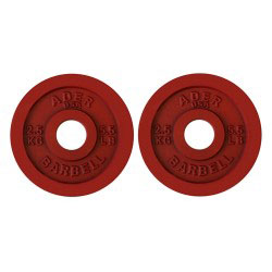Precision Olympic Plate Pair- 2.5Kg