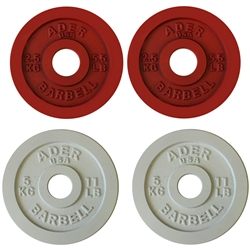 Precision Olympic Plate Set- 2.5 & 5Kg