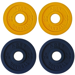 Precision Olympic Plate Set- 1.5 & 2.0Kg