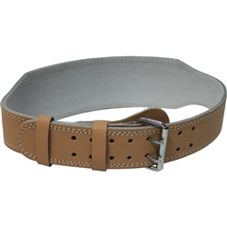 "Ader 4"" Leather Weight Lifting Belt"