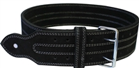 "Ader Powerlifting Belt- 4"" Black"
