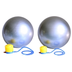 55cm & 65cm Yoga Stability Versa Exercise Ball Pair