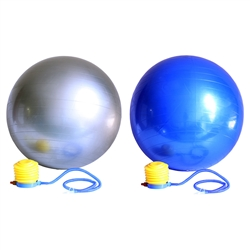 65cm & 75cm Yoga Stability Versa Exercise Ball Pair