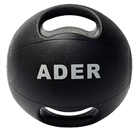16 lb Double Grip Medicine Ball