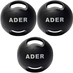Double Grip Medicine Ball Set- 8, 12, 16 lb
