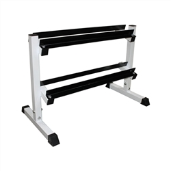 "2-Tier 36"" Dumbbell Rack"