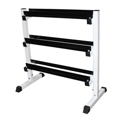 "3-Tier 36"" Dumbbell Rack"