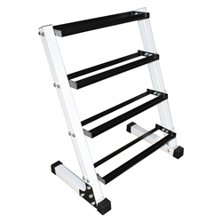 "4-Tier 24"" Dumbbell Rack"