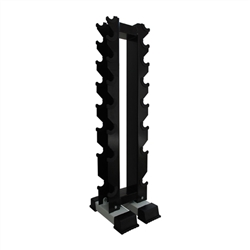 Rubber Dumbbell Upright Rack- For 8 Pairs