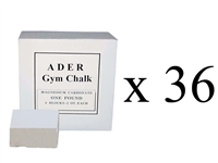 Gym Chalk Case- 36 1lb boxes (Total 288 Pieces)