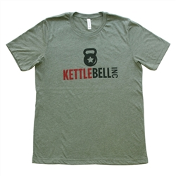 Unisex Heather Military Green T-Shirt