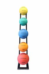 Medicine Ball Set w/ Rack- 2lb to 10lb
