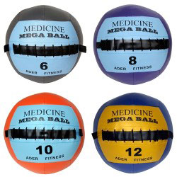 Mega Soft Medicine Ball Set (6, 8, 10, 12 lb)