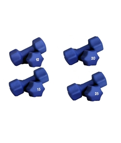 Neoprene Dumbbell Set- 12-25lbs