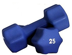 Neoprene Dumbbell Pair- 25lbs