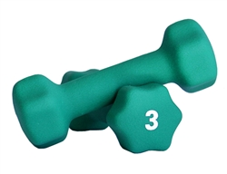 Neoprene Dumbbell Pair- 3lbs