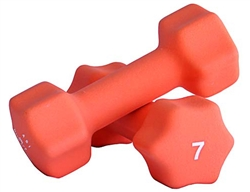 Neoprene Dumbbell Pair- 7lbs