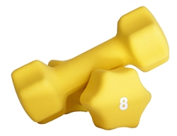 Neoprene Dumbbell Pair- 8lbs