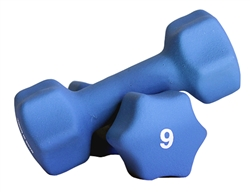 Neoprene Dumbbell Pair- 9lbs
