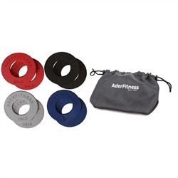 Olympic Fractional Plate Set W/ Bag- 5Lb