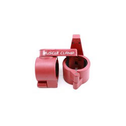"Olympic 2"" Muscle Clamps- Red"