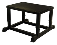 Adjustable Black Plyometric Box