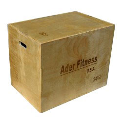 3-in-1 Wooden Plyo Box Platform