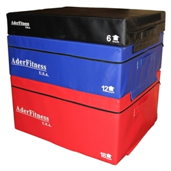 Foam Soft Plyometric Box Set- 6, 12, 18""