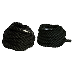 "Battle Training Power Ropes- 1.5"" X 40ft & 50ft"
