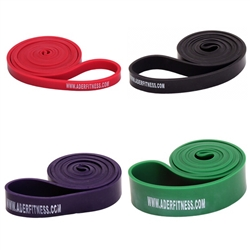 Set of 4 Stretch Bands- Light Tension