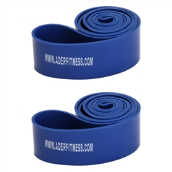 "Blue 2 1/2"" Stretch Band Pair- 60-150lb Tension"