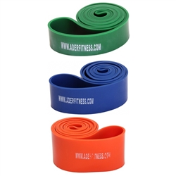 Set Of 3 Stretch Bands- Heavy Tension