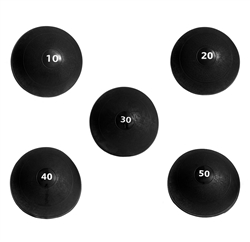 Ader Slam Ball 5 Piece Set (10-50lbs)